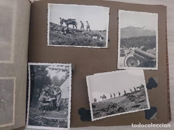 Militaria: GUERRA CIVIL 3 ÁLBUMES FOTOGRAFIAS_ EJÉRCITO ESPAÑOL - Foto 41 - 197097658