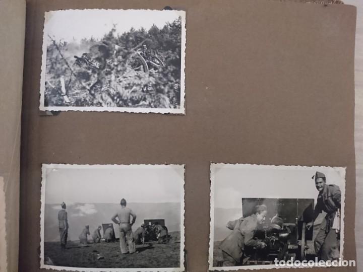 Militaria: GUERRA CIVIL 3 ÁLBUMES FOTOGRAFIAS_ EJÉRCITO ESPAÑOL - Foto 45 - 197097658