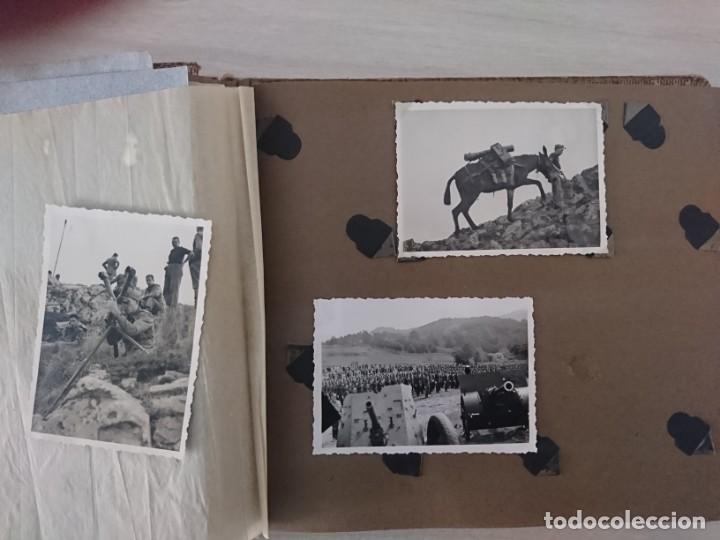 Militaria: GUERRA CIVIL 3 ÁLBUMES FOTOGRAFIAS_ EJÉRCITO ESPAÑOL - Foto 49 - 197097658