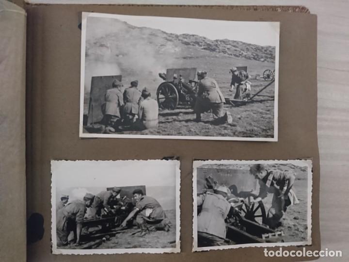 Militaria: GUERRA CIVIL 3 ÁLBUMES FOTOGRAFIAS_ EJÉRCITO ESPAÑOL - Foto 51 - 197097658