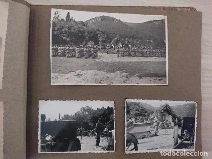 Militaria: GUERRA CIVIL 3 ÁLBUMES FOTOGRAFIAS_ EJÉRCITO ESPAÑOL - Foto 53 - 197097658