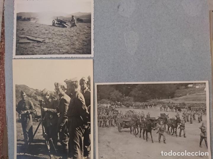 Militaria: GUERRA CIVIL 3 ÁLBUMES FOTOGRAFIAS_ EJÉRCITO ESPAÑOL - Foto 57 - 197097658