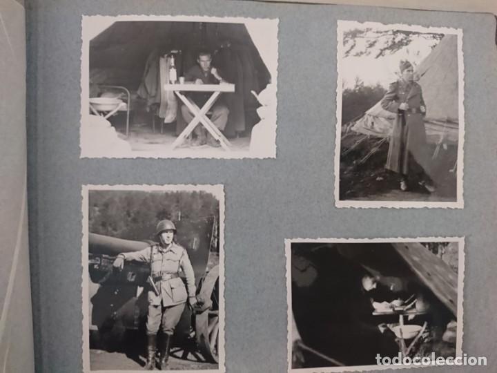 Militaria: GUERRA CIVIL 3 ÁLBUMES FOTOGRAFIAS_ EJÉRCITO ESPAÑOL - Foto 60 - 197097658
