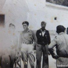 Militaria: FOTOGRAFÍA OFICIALES DEL EJÉRCITO NACIONAL.. Lote 197109623