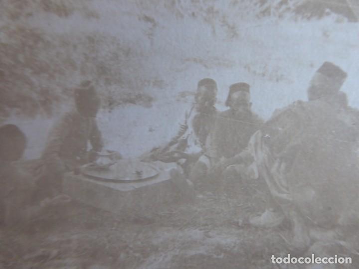 FOTOGRAFÍA TENIENTE REGULARES. (Militar - Fotografía Militar - Otros)