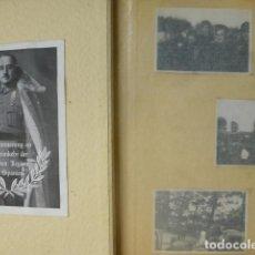 Militaria: ZARAGOZA GUERRA CIVIL ALBUM SOLDADO LEGION CONDOR 151 FOTOGRAFIS. Lote 197432058