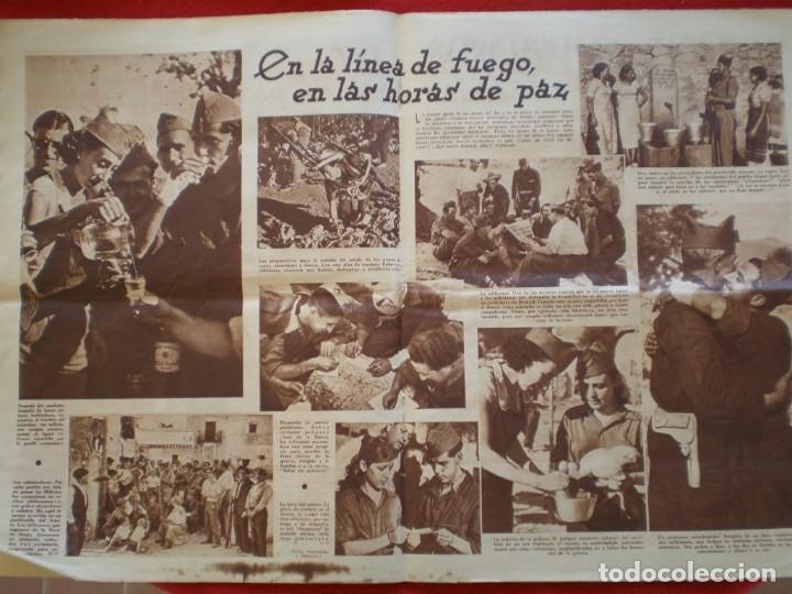 Militaria: REVISTA REPUBLICANA ESTAMPA GUERRA CIVIL 29/08/1936 MILICIANOS EN EL FRENTE MUCHAS FOTOS LAGARTERA - Foto 8 - 197679306