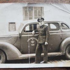 Militaria: FOTOGRAFÍA MILITAR CONDUCTOR ESTABLECIMIENTO CENTRAL MANDO. Lote 197708065
