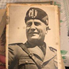 Militaria: FOTOGRAFÍA DE MUSSOLINI. Lote 197792121