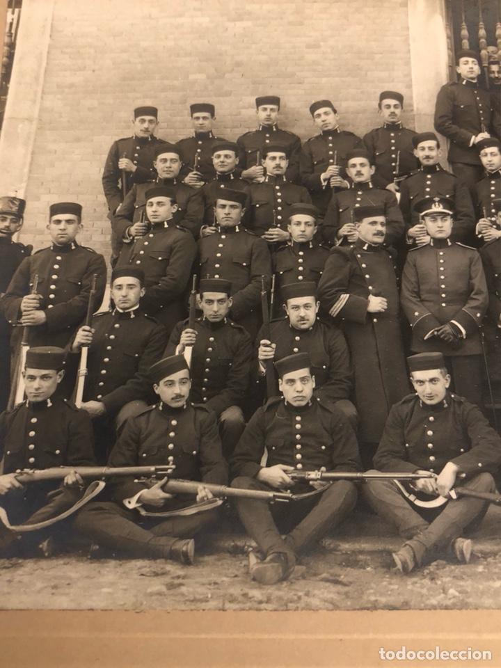 Militaria: Magnifica fotografía 2 regimiento de zapadores 1917 - Foto 2 - 197793193