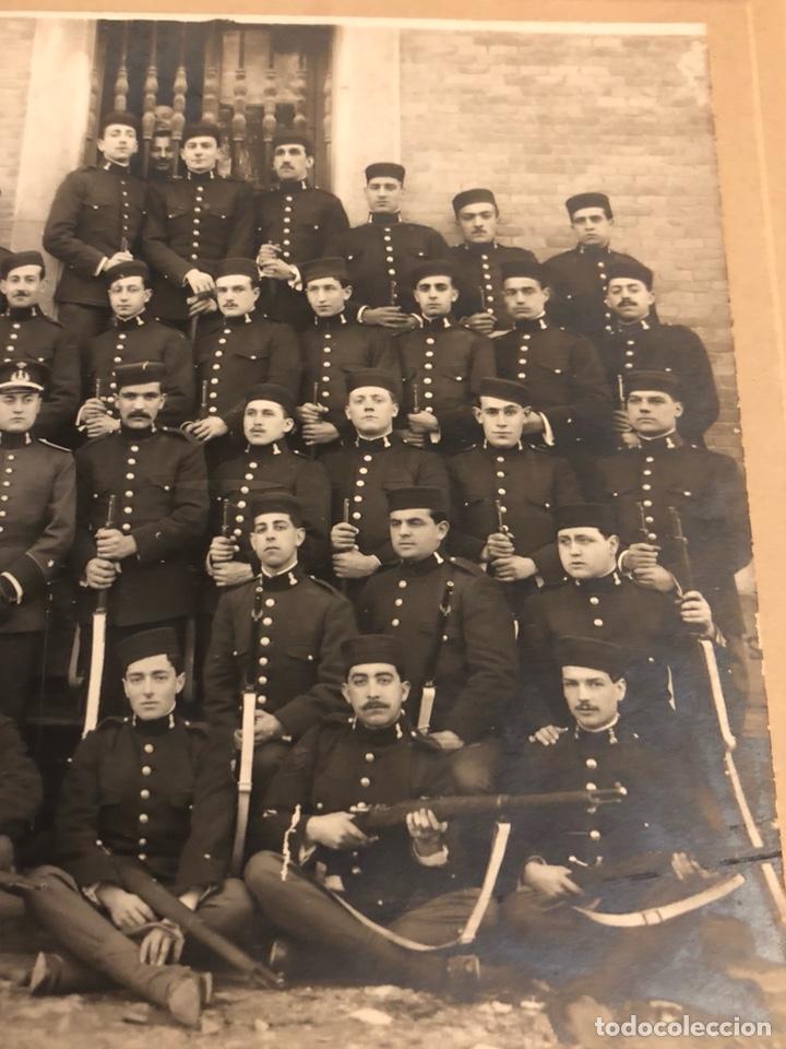 Militaria: Magnifica fotografía 2 regimiento de zapadores 1917 - Foto 3 - 197793193