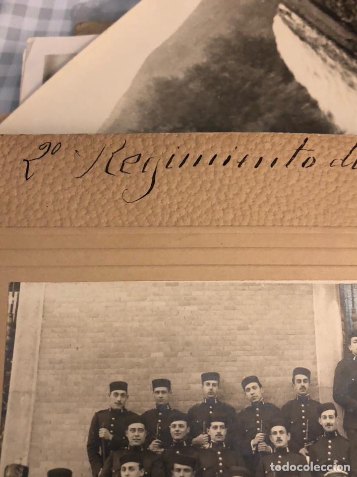 Militaria: Magnifica fotografía 2 regimiento de zapadores 1917 - Foto 5 - 197793193