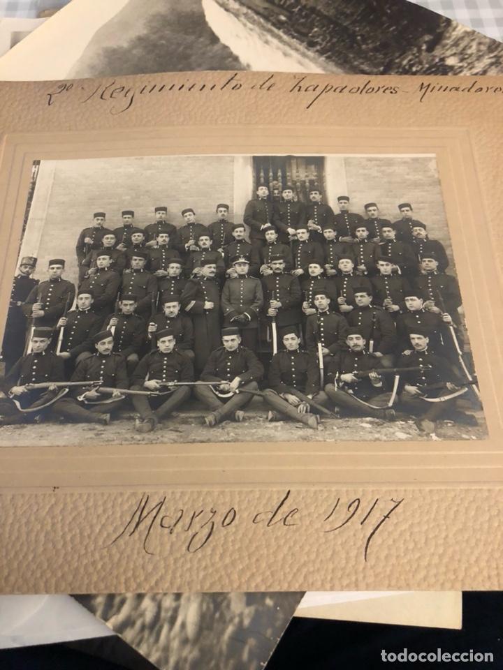 MAGNIFICA FOTOGRAFÍA 2 REGIMIENTO DE ZAPADORES 1917 (Militar - Fotografía Militar - I Guerra Mundial)