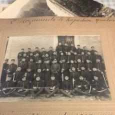 Militaria: MAGNIFICA FOTOGRAFÍA 2 REGIMIENTO DE ZAPADORES 1917. Lote 197793193