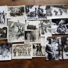 Militaria: GRAN LOTE 135 FOTOS DE MILITARES EJERCITO ESPAÑOL. Lote 197895333