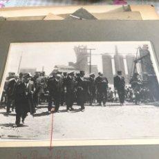 Militaria: ANTIGUA FOTOGRAFÍA ORIGINAL, ALFONSO XIII Y DON RAMON DE LA SOTA. Lote 197905291