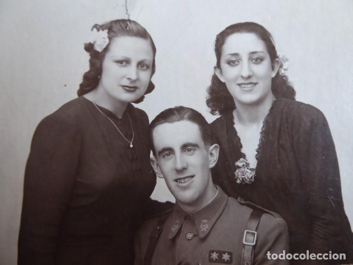 FOTOGRAFÍA TENIENTE PROVISIONAL DEL EJÉRCITO NACIONAL. GUERRA CIVIL (Militar - Fotografía Militar - Guerra Civil Española)