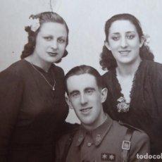 Militaria: FOTOGRAFÍA TENIENTE PROVISIONAL DEL EJÉRCITO NACIONAL. GUERRA CIVIL. Lote 198022907