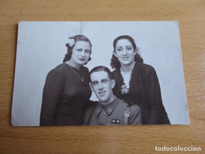 Militaria: Fotografía teniente provisional del ejército nacional. Guerra Civil - Foto 2 - 198022907