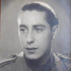 Militaria: FOTOGRAFÍA ALFÉREZ PROVISIONAL DEL EJÉRCITO NACIONAL.. Lote 198025058