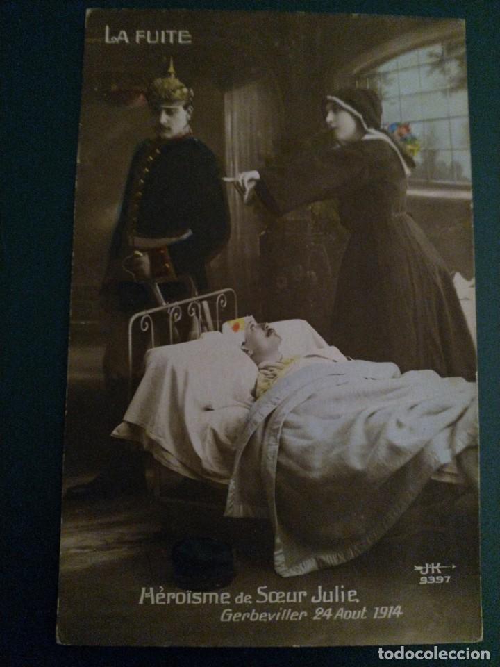 POSTAL FRANCESA WWI (Militar - Fotografía Militar - I Guerra Mundial)