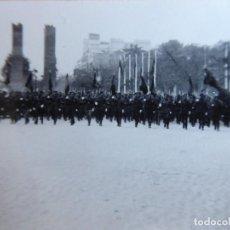 Militaria: FOTOGRAFÍA SOLDADOS DEL EJÉRCITO NACIONAL. DESFILE DE LA VICTORIA MADRID 1939. Lote 198722228