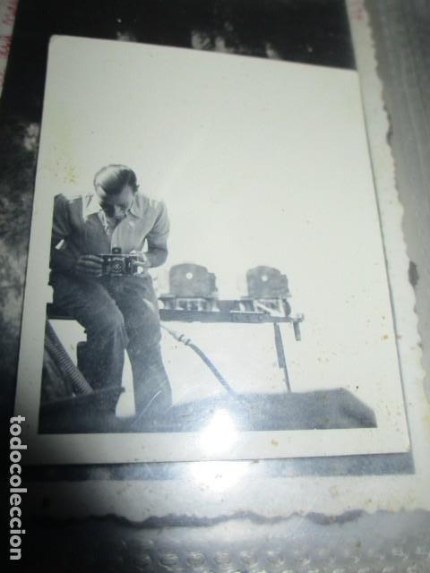 Militaria: antigua foto guerra civil ESPAÑA DEUTSCHER FOTOGRAF MILITAR LEGION CONDOR CON SUS CAMARAS CIRCA 1939 - Foto 7 - 198781041