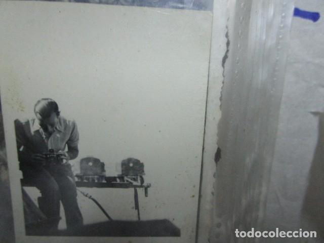 Militaria: antigua foto guerra civil ESPAÑA DEUTSCHER FOTOGRAF MILITAR LEGION CONDOR CON SUS CAMARAS CIRCA 1939 - Foto 3 - 198781041