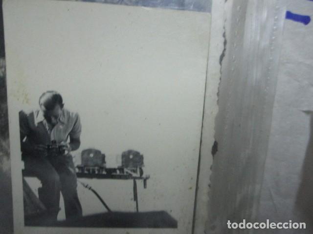 Militaria: antigua foto guerra civil ESPAÑA DEUTSCHER FOTOGRAF MILITAR LEGION CONDOR CON SUS CAMARAS CIRCA 1939 - Foto 4 - 198781041