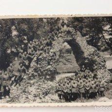 Militaria: FOTOGRAFÍA MILITAR EN EL CIRCO ROMANO DE TOLEDO. AÑOS 60. Lote 198913100