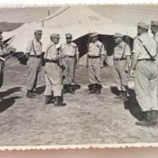 Militaria: CAPITAN GENERAL PRADA CANILLAS Y OTROS OFICIALES DE MANIOBRAS DE LA ACADEMIA DE INFANTERÍA DE TOLEDO. Lote 198938622