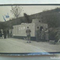 Militaria: GUERRA CIVIL : FOTO DE UN CAMION BLINDADO ROJO UHP. Lote 198955121
