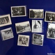 Militaria: 10 FOTOGRAFÍAS ALEMANAS LL GUERRA MUNDIAL. Lote 199107632