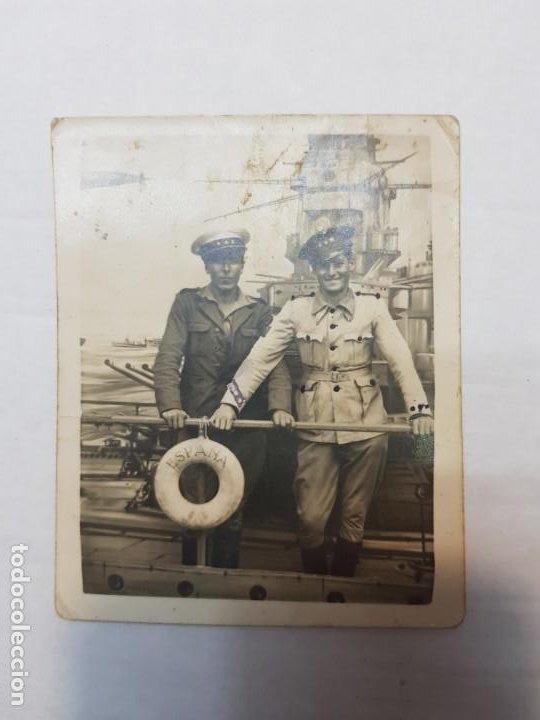 Militaria: Fotografía Capitanes del Ejército Español - Foto 2 - 199126436