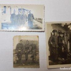 Militaria: FOTOGRAFÍAS MILITARES ESPAÑOLES DISTINTOS CUERPOS LOTE 3. Lote 199128505