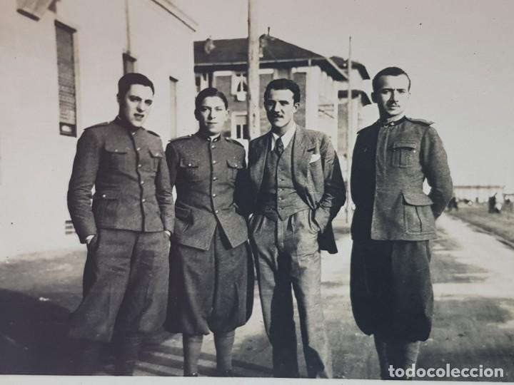 Militaria: Fotografías Militares Españoles distintos Cuerpos lote 3 - Foto 2 - 199128505