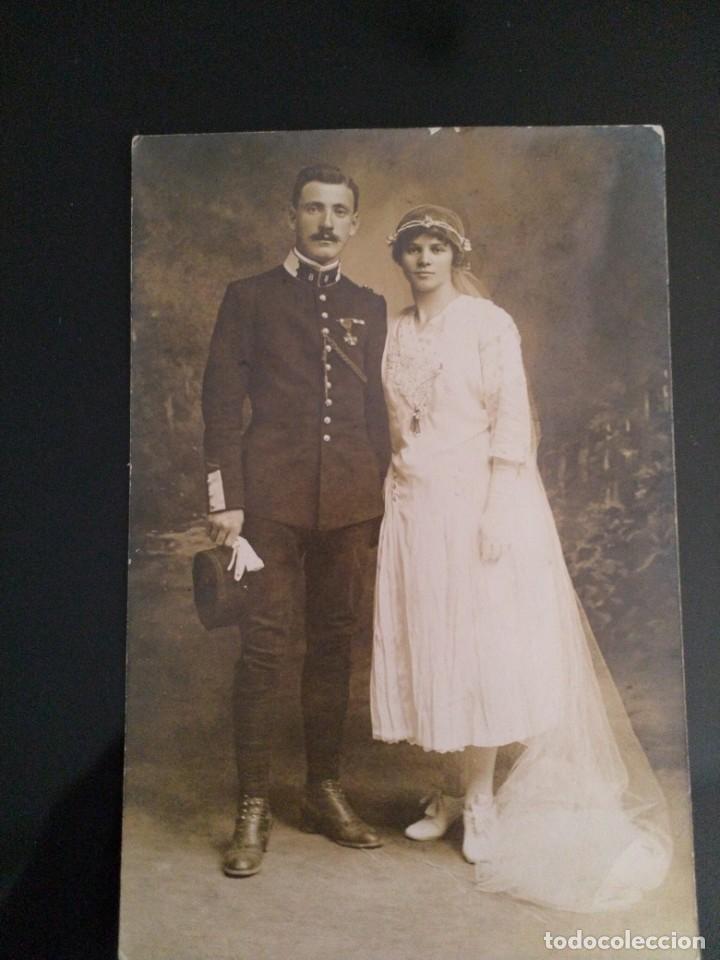 POSTAL SOLDADO FRANCÉS (Militar - Fotografía Militar - I Guerra Mundial)