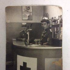 Militaria: ANTIGUA FOTOGRAFÍA CRUZ ROJA. Lote 199247472