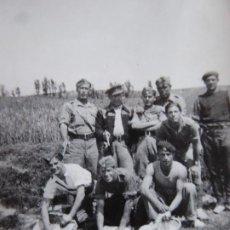 Militaria: FOTOGRAFÍA SARGENTOS PROVISIONALES DEL EJÉRCITO NACIONAL. MAQUEDA 1938. Lote 199385457
