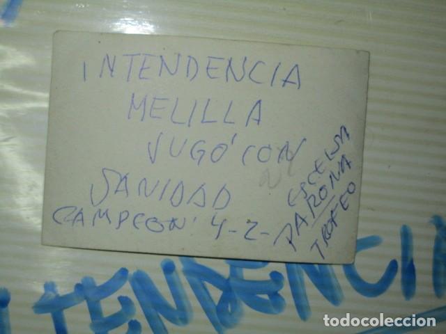 Militaria: futbol melilla intendencia campeon ESCELSA MELILLA POST GUERRA CIVIL - Foto 3 - 119209747