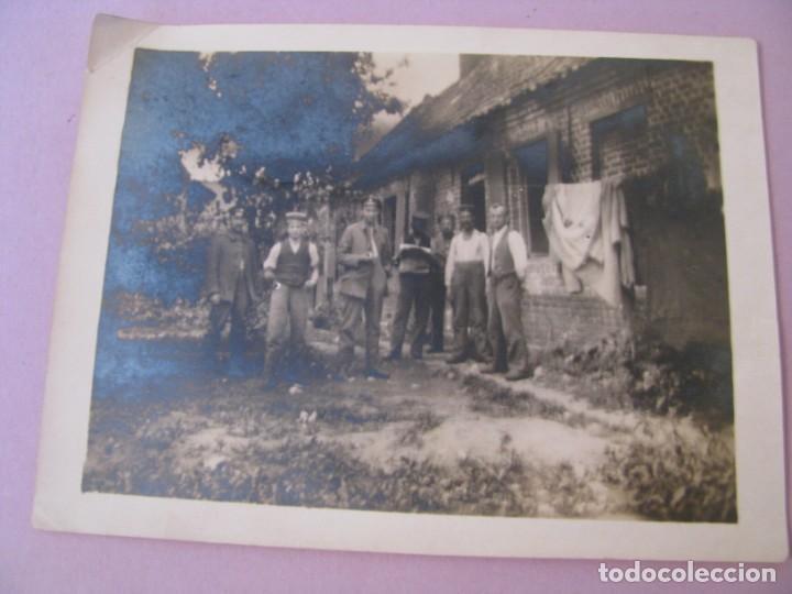 ANTIGUA FOTO. MILITARES ALEMANES. PRIMERA GUERRA MUNDIAL. 1917. (Militar - Fotografía Militar - I Guerra Mundial)