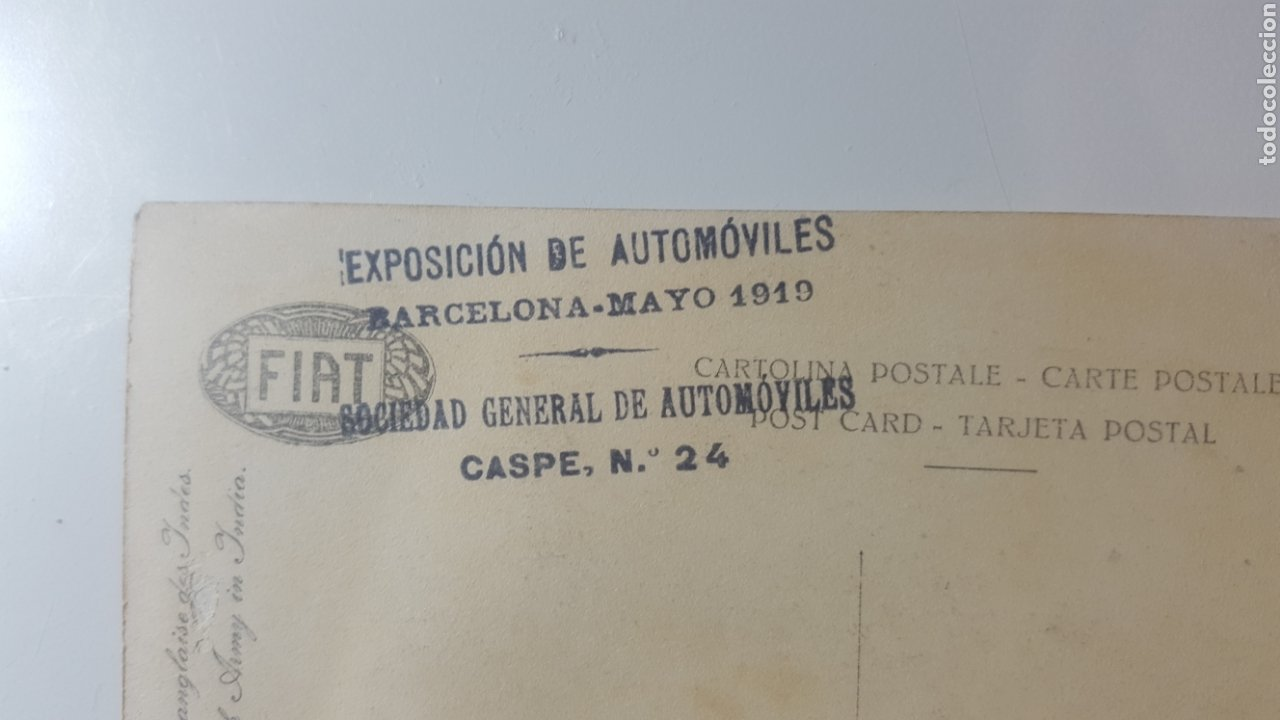 Militaria: MAYO 1919 EXPOSICION DE AUTOMOVILES BARCELONA. CAMIONES MILITARES FIAT PARA EL EJÉRCITO BRITÁNICO - Foto 3 - 199685015