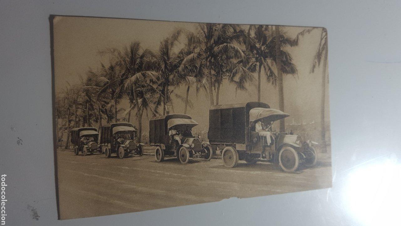 MAYO 1919 EXPOSICION DE AUTOMOVILES BARCELONA. CAMIONES MILITARES FIAT PARA EL EJÉRCITO BRITÁNICO (Militar - Fotografía Militar - I Guerra Mundial)