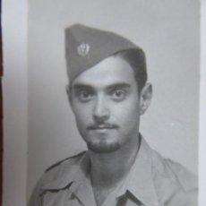 Militaria: FOTOGRAFÍA SOLDADO SANIDAD MILITAR DEL EJÉRCITO POPULAR DE LA REPÚBLICA. 1937. Lote 199878703
