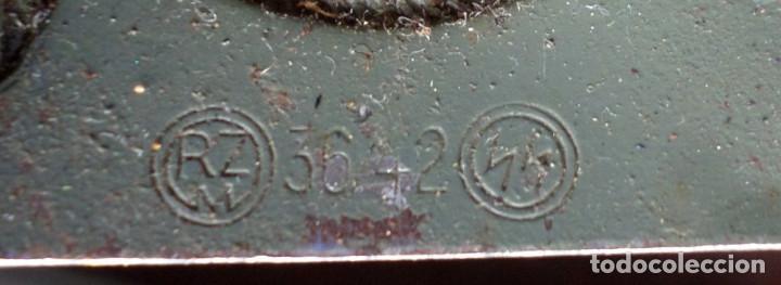 Militaria: Cinturón 2ª GM – SS .. Hebilla marcajes (ver fotos) - Foto 4 - 45462684