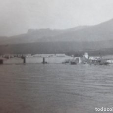 Militaria: FOTOGRAFÍA BASE DE HIDROAVIONES ATALAYÓN MELILLA. 1931. Lote 200036200