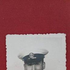 Militaria: ANTIGUA FOTOGRAFÍA MILITAR. INFANTERIA DE MARINA,DEDICADA POR DETRÁS. W. Lote 200200341