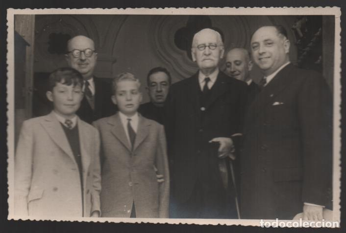 SEVILLA,- PRINCIPE DE ASTURIAS,JUAN CARLOS Y SU PRIMO ALFONSO DE BUSTO, FOTO: VILCHES.-AÑO 1949, VER (Militar - Fotografía Militar - Otros)