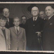 Militaria: SEVILLA,- PRINCIPE DE ASTURIAS,JUAN CARLOS Y SU PRIMO ALFONSO DE BUSTO, FOTO: VILCHES.-AÑO 1949, VER. Lote 200391268