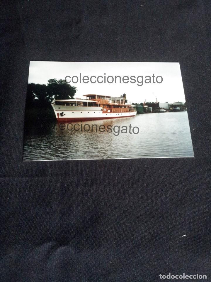 FOTOGRAFIA DEL YATE AZOR RECONSTRUIDO - AÑO 1996 (Militar - Fotografía Militar - Otros)
